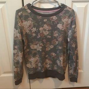 Ardene Floral Sweatshirt